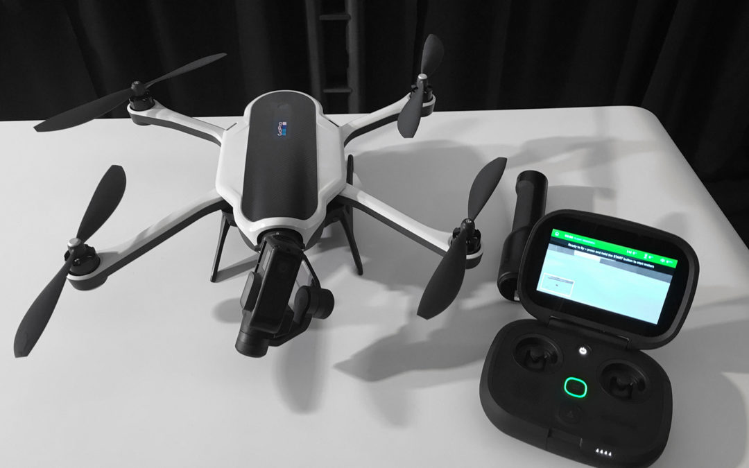 GoPro and drone Karma